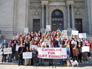 Catholic Supporting Equality at Cathedral 089