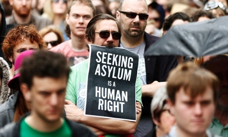 seeking asylum is a human right